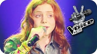 Tracy Chapman: Give Me One Reason (Amber) | The Voice Kids 2015 | Blind Auditions | SAT.1