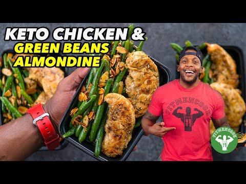 Keto Meal Prep – Chicken & Green Beans Almondine