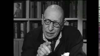A Conversation with Igor Stravinsky, 1957
