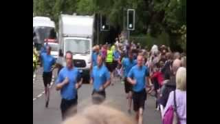 preview picture of video 'Queen's Baton Giffnock 16th July 2014'