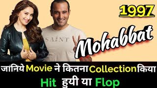 Akshaye Khanna MOHABBAT 1997 Bollywood Movie Lifetime
