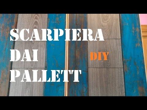 Scarpiera con pallett (con utensili di base) by PaoloBrada DIY