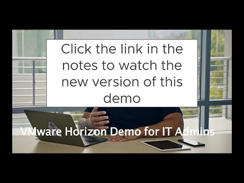 Horizon 7 Demo for IT Admins