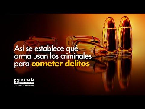 Así se establece qué arma usan los criminales para cometer delitos