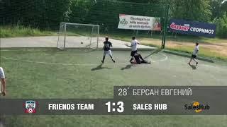 Friends Team - Sales Hub(обзор матча)#SFCK Street Football Challenge Kiev