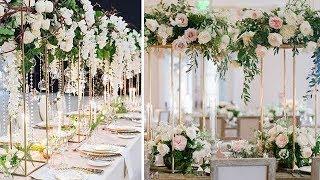 DIY Decorate Wedding Table Centerpiece/ Floral Backdrop/ Aisle Or Ceremony Decoration  (part 3)