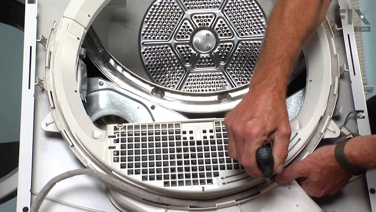 Replacing your General Electric Dryer Duct Felt Seal