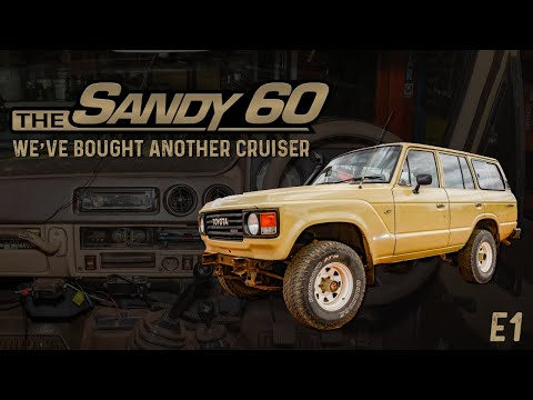 The Sandy 60   We've bought another Cruiser - E1
