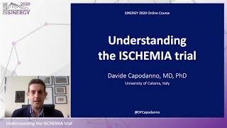 SINERGY 2020 – Understanding the ISCHEMIA trial