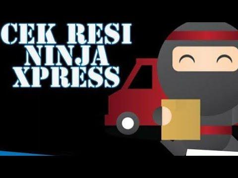 #ninjaexpres#lazada tutorial lacak/tracking paket  ninja expres dari lazada