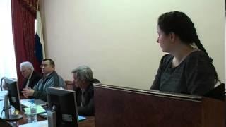 Защита диссертации. Голобокова М.А. 24.01.2012