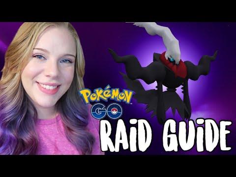 THE BEST DARKRAI RAID COUNTERS in Pokémon Go! | Darkrai Raid Guide