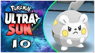 Togedemaru  - (Pokémon) - POKÉMON ULTRA SUN #10 - TOTEM TOGEDEMARU, GYM DE KANTO E GUZMA!