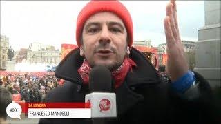 Francesco Mandelli in viaggio con Totò a Londra - Quelli che il calcio 18/02/2018 | Kholo.pk