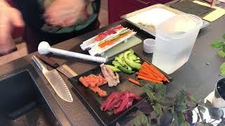 Sushi machen mit SUSHEZI - der erste Versuch