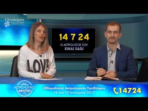 Αστρολογικό Δελτίο: Προβλέψεις από 16 έως 22 Ιανουαρίου 2017