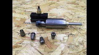 Mini Lathe TOOL POST Drill Build
