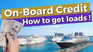 Cruise On-Board Credit. 8 Ways To Get More, And What You Can Spend It On!