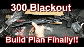300 Blackout Plan & Build Project!!  This should Be FUN!!!!