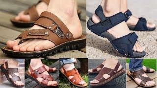 Genuine Leather Designer Summer Sandals For Men New Designs 2020 Collection