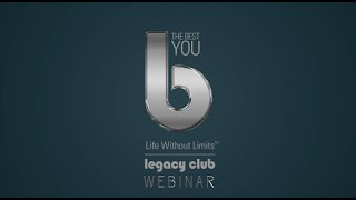 Leaving a Legacy webinar by Bernardo Moya