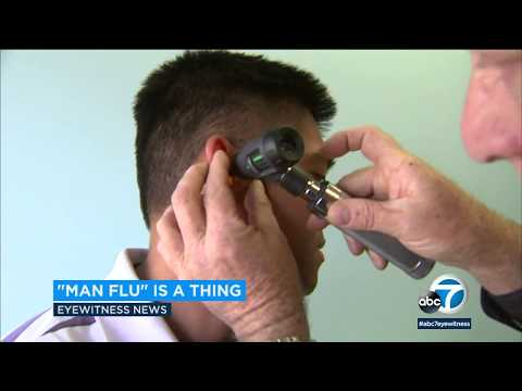 'Man flu' is a real thing, study suggests | ABC7