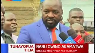 BABU OWINO AKAMATWA: Wakili Cliff Ombeta adai kwamba Babu Owino alichokozwa