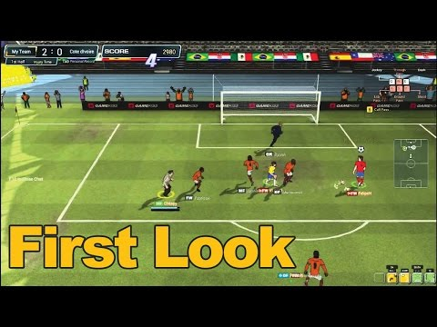 FreeStyle Football Gameplay First Look - MMOs.com
