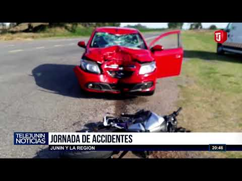 Accidentes en Junín y la región