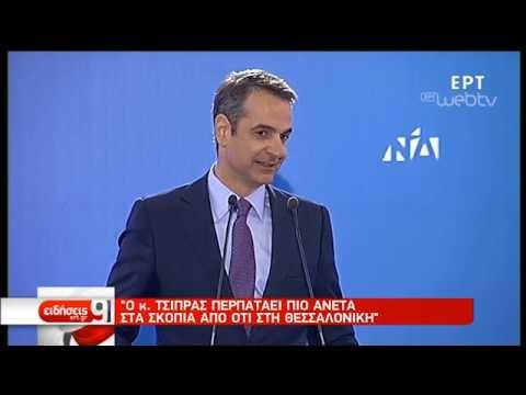 Στη Λακωνία ο Κ. Μητσοτάκης | 04/04/19 | ΕΡΤ