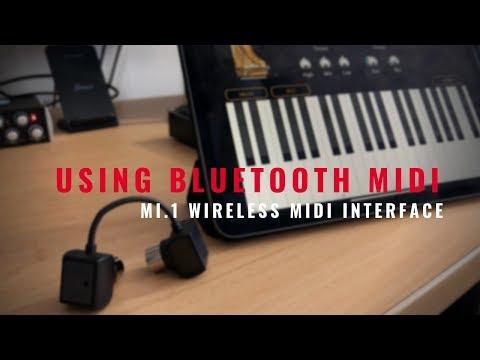 Using Bluetooth Midi With Your Mac or iOS Device! (Mi.1 Wireless Midi Interface)