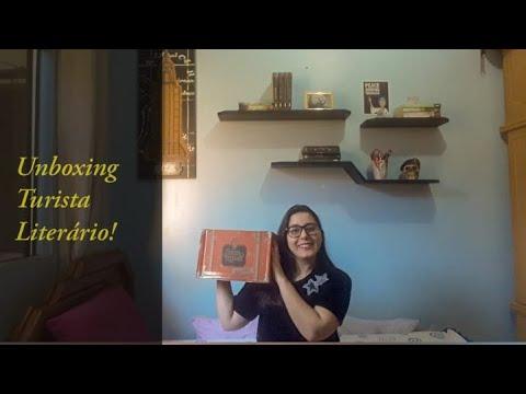 UNBOXING TURISTA LITERÁRIO - Cantinho da Luh
