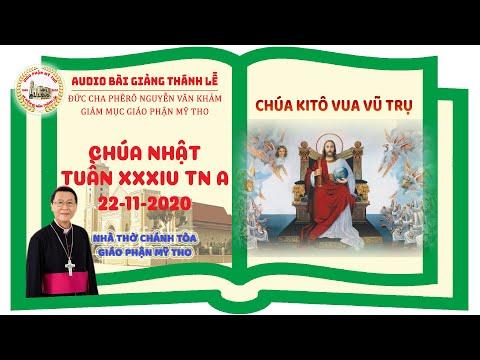 Đức Cha Phêrô suy niệm CN XXXIV TN A: CHÚA KITÔ VUA VŨ TRỤ