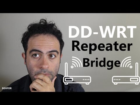 How to setup DD-WRT Repeater Bridge (Extend your Wifi)
