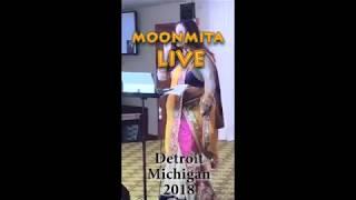 Mere Rashke Qamar | Moonmita Ghosh - Live In   - YouTube