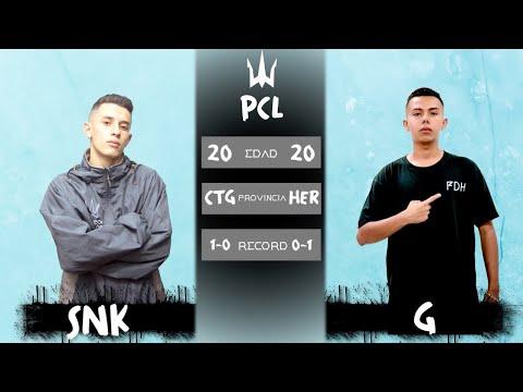 SNK vs G /FECHA 2 PCL TEMPORADA 2019-2020/POSEIDON BATTLES