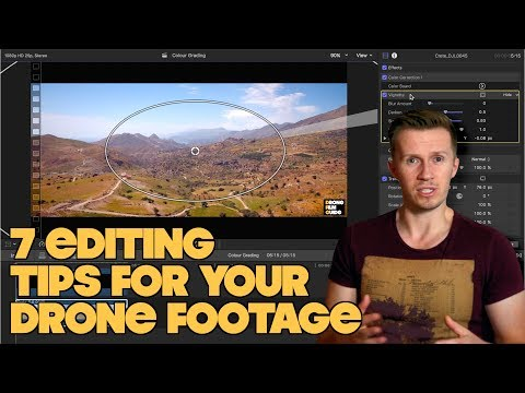 7 Editing Tips To TRANSFORM Your Cinematic DRONE Footage!