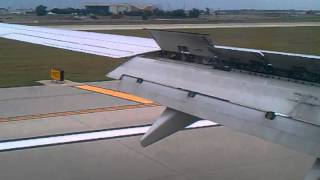 Landing United B737 ORD Chicago flight 1174 from LAS