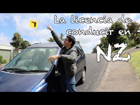 La licencia de conducir en Nueva Zelanda (Para autos)