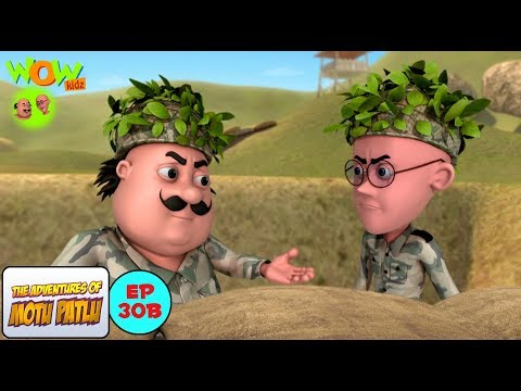 Army - Motu Patlu in Hindi WITH ENGLISH, SPANISH & FRENCH SUBTITLES