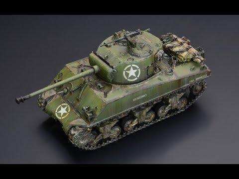 Sherman  M4A3 76mm - 1/72 Dragon - Tank Model