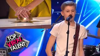 TOP 3 KID ROCK BANDS from AROUND THE WORLD - Which one gets the GOLDEN BUZZER!?