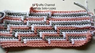 How To Crochet Apache Tears Pattern For Blanket Crochet Tutorial