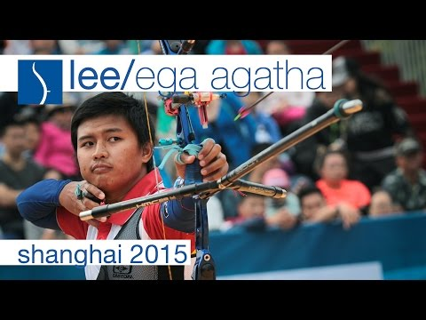 Lee v Ega Agatha – Recurve Men's Bronze Final | Shanghai 2015