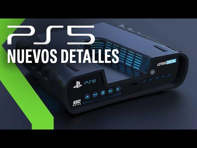LOGOTIPO y NUEVOS detalles de PLAYSTATION 5 en el CES 2020