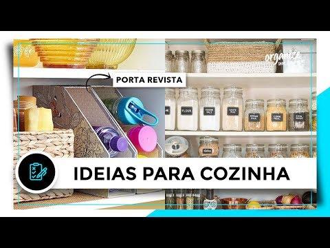 IDEIAS BARATINHAS E CRIATIVAS PARA ORGANIZAR A COZINHA