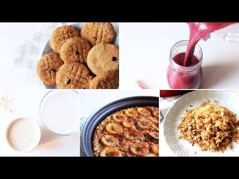 5 рецептов с овсянкой для детей!