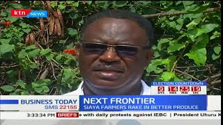 NEXT FRONTIER - 16th October 2017 - Sorghum Farmers in Siaya County