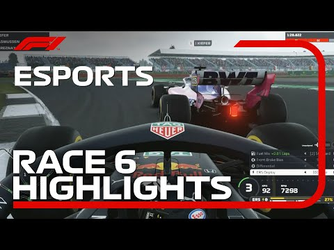 F1 Esports Pro Series 2019: Race Six Highlights
