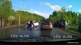 Серьезное ДТП на Ильинском шоссе